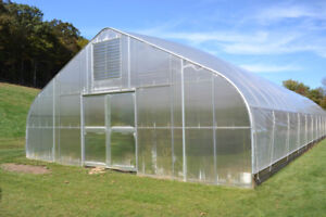 Sale Brand New 32 foot Hoophouse Greenhouse For Sale