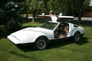 1974 Bricklin SV1 - White Coupe.