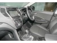 2018 Hyundai Santa Fe 2.2 CRDi 200ps 4WD Premium Blue Drive 5 Seats 5 door St...