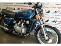 1977 Honda GL1000 Gold Wing, standard bike.