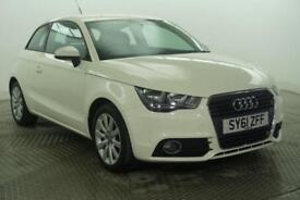 2012 Audi A1 TFSI SPORT Petrol white Manual