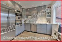 Ikea Kitchen Installation (FREE Kitchen Design) 416-830-7645