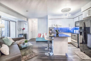 2 Bed 2 Wash Room Condo at Square One Location, Mississauga