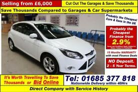 2014 - 64 - FORD FOCUS ZETEC 1.6TDCI 115PS 5 DOOR HATCHBACK (GUIDE PRICE)