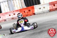2014 Kosmic Kart Chassis and 2 Rotax 125 Engines