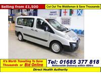 2009 - 59 - CITROEN DISPATCH 1.6HDI 90PS 5 SEAT DISABLED ACCESS MINIBUS