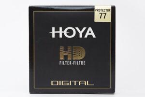 NEW Hoya 77mm HD Protector Filter