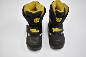 Bottes d'hiver Transformers (taille 9)