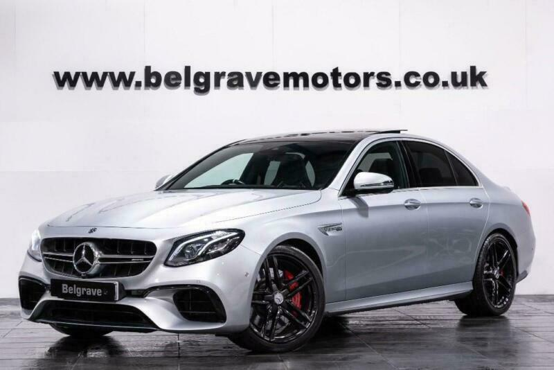 2018 Mercedes-Benz E63 AMG AMG E 63 S 4MATIC PREMIUM PAN ROOF BUCKET SEATS 610 B