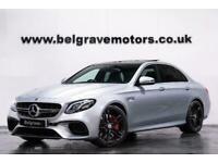 2018 Mercedes-Benz E63 AMG AMG E 63 S 4MATIC PREMIUM PAN ROOF BUCKET SEATS 610 B