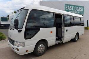 TOYOTA COASTER DELUXE ** 21 SEATS ** CHARTER ** #4736 Archerfield Brisbane South West Preview