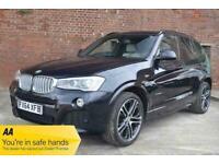 2014 BMW X3 XDRIVE35d M SPORT Auto ESTATE Diesel Automatic