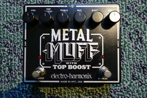 Electro Harmonix Metal Muff Distortion Pedal