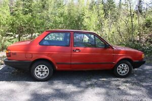 For Sale 1991 VW Fox as is.  $1100 or OBO
