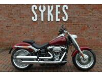 NEW Harley-Davidson FLFBS Softail Fat Boy 114 in Stiletto Red