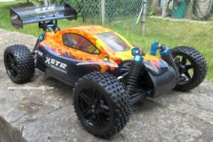 New RC Electric Car / Buggy 1/10 Scale 4WD 2.4G 1 Yr Warr