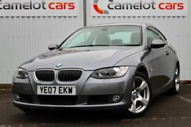 2007 BMW 325i SE COUPE AUTOMATIC, FULL SERVICE HISTORY, TWO OWNER, 12M MOT