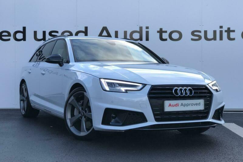 2018 Audi A4 Avant Black Edition 40 Tdi 190 Ps S Tronic Diesel White