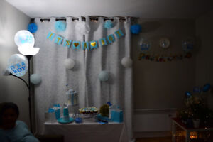 Baby Boy Decoration Items- Baby Shower
