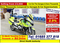 2011 - 11 - BMW RT 1200 PETROL RAPID RESPONSE MOTORCYCLE (GUIDE PRICE)