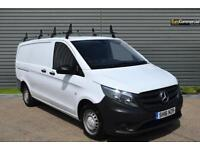 2016 Mercedes-Benz Vito 1.6 109CDI Extra Long Panel Van 6dr Diesel white Manual