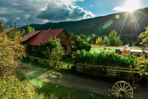 Farm for Rent in Macalister, BC