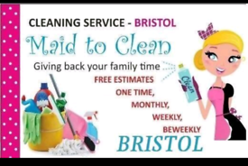 Maid to Clean - professional cleaning service