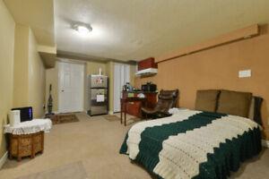 1 bedroom clean basement nearby Mavis/Derry