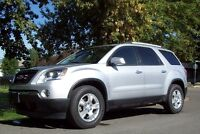 GMC ACADIA ONE OWNER ONLY 45,378 KMS LOTS OF ROOM GOOD MILEAGE