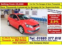 2012 - 12 - VOLKSWAGEN POLO 1.2 PETROL 3 DOOR HATCHBACK (GUIDE PRICE)