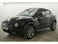 2013 Nissan Juke TEKNA Petrol black Manual