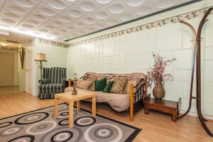 1 bedroom basement apartment furnished TV/WIFI