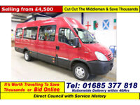 2009 - 58 - IVECO DAILY 45C15 3.0HPI 11 SEAT MINIBUS (GUIDE PRICE)