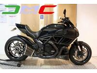 2011 Ducati Diavel Special Black 7,236 Miles 1 Owner Termi Ohlins Many Extras