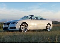 Audi A5 Cabriolet S Line Special Edition 2013 only 11,500 miles