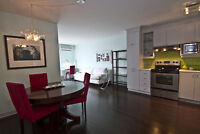 Modern Fully Furnished Top Floor Condo in St-Henri - 1200$/month