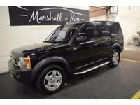 2006 06 LAND ROVER DISCOVERY 3 2.7 3 TDV6 S 5D AUTO 188 BHP 7 SEATS DIESEL