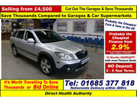 2011 - 11 - SKODA OCTAVIA SCOUT 2.0TDI CR 4X4 5 DOOR ESTATE (GUIDE PRICE)