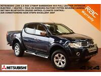 Mitsubishi L200 2.5DI-D AUTO Barbarian-SAT NAV-LEATHER-BLUETOOTH-REV. CAMERA