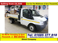 2011 - 61 - FORD TRANSIT T350 2.5TDCI 115PS SINGLE CAB TIPPER (GUIDE PRICE)