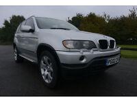 2002 BMW X5 3.0D SPORT DIESEL! AUTOMATIC NEW SERVICE! 13 STAMPS! SAT NAV NEW MOT