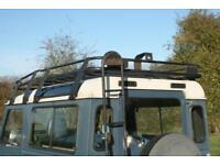 Land Rover Defender 90 Tubular Roof Rack