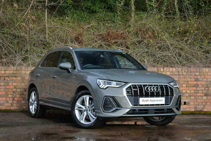 2019 Audi Q3 S Line 45 Tfsi Quattro 230 Ps S Tronic Petrol Grey Semi