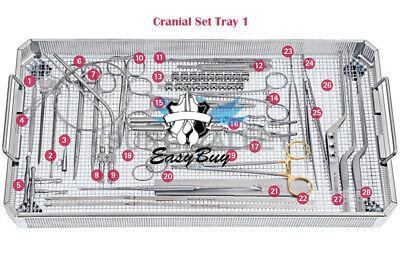 Cranial Neurosurgery Set Instruments For General Surgery