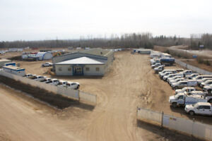 Parking and storage with 8 offices and 2 acre lot