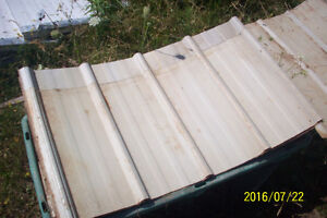 Steel Roofing/Siding Sheets, also for Smaller Building Projects