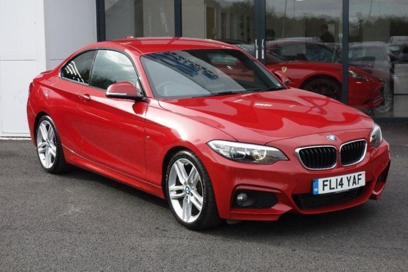 2014 BMW 2 Series 2.0 225d M Sport Sport Auto 2dr (start/stop)
