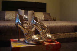 Chinese Laundry Brand New Silver Heels