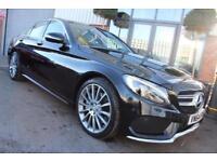 Mercedes C250 BLUETEC AMG LINE PREMIUM PLUS-PANORAMIC SUNROOF-SAT NAV
