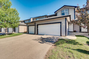 RENOVATED FULLY FINISHED DOUBLE GARAGE TOWNHOME!
